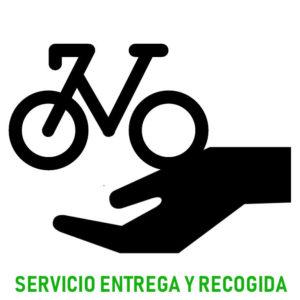 Servicio de entrega y recogida de bicicleta