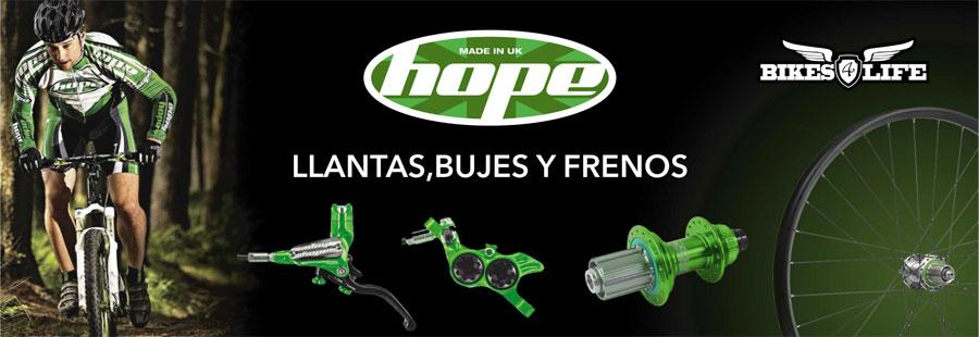 Llantas Bujes y Frenos HOPE