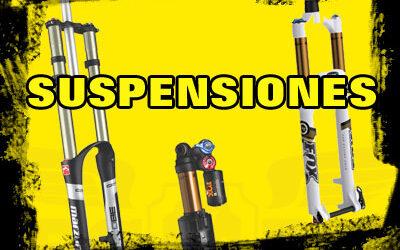 Suspensiones para mountain bike. ¿Cuál elegir?