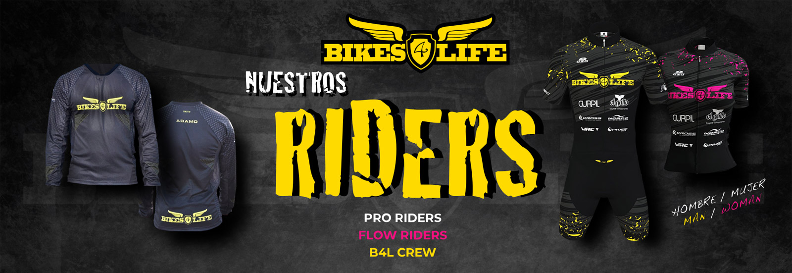 Nuestros Riders